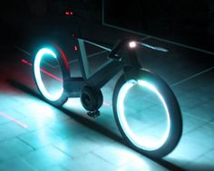 This Tron-Styled Bicycle Is Off The Grid