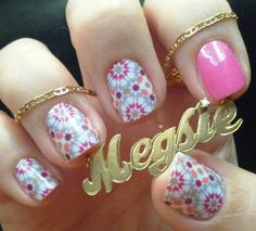 Jamberry in Quilted and Haute Pink #Jamberry  http://meghanavis.jamberrynails.com/