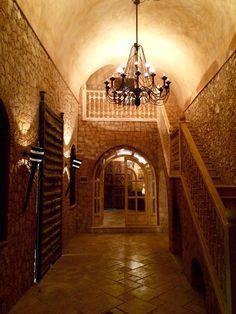 La Sultana, hallway to the spa