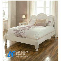 Tempat Tidur Minimalis Putih Murah | Model Dipan Minimalis Duco Putih