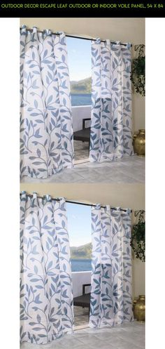 Outdoor decor Escape Leaf Outdoor or Indoor Voile Panel, 54 x 84 #products #fpv #plans #gazebo #curtain #parts #outdoor #technology #shopping #decor #drone #gadgets #camera #kit #tech #racing
