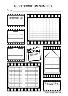 ABN: Nuevos cuadernos de Sara Herrera - SOS Profes School Hacks, Teaching Math, Maths, Math Games, Teacher Resources, Mathematics, Diy And Crafts, Homeschool, Chart