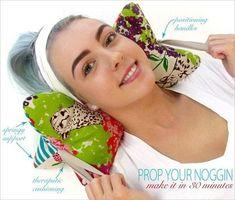 Расслабляющая подушка для шеи (Шитье и крой) | Журнал Вдохновение Рукодельницы