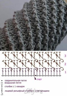 Watch This Video Beauteous Finished Make Crochet Look Like Knitting (the Waistcoat Stitch) Ideas. Amazing Make Crochet Look Like Knitting (the Waistcoat Stitch) Ideas. Mobiles En Crochet, Crochet Mobile, Crochet Diy, Tunisian Crochet, Crochet Diagram, Crochet Chart, Crochet Stitches Patterns, Knitting Patterns, Knitting Charts