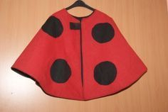 Kids Shoes With Arch Support Code: 6496407821 Sewing Kids Clothes, Sewing For Kids, Baby Sewing, Diy Clothes, Sewing Ideas, Costume Coccinelle, Diy Cape, Ladybug Costume, Maquillage Halloween