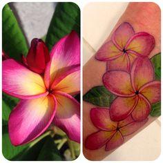 plumeria tattoo | Plumeria tattoo