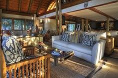 Comfy sofas are ready for to have afternoon tea. Elephant Camp, Comfy Sofa, Al Fresco Dining, African Safari, Lodges, Swimming Pools, Camping, Couch, Places
