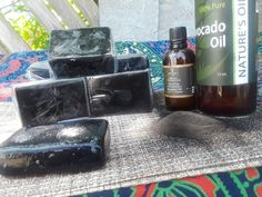 Black Magic Activated Charcoal & Tea Tree Soap #TeaTreeOilForAcne Tea Tree Essential Oil, Essential Oils, Tea Tree Soap, Activated Charcoal Soap, Tea Tree Oil For Acne, Black Magic, Diy Beauty, Skin Care, Pure Products