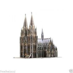 Paper Toy Scale Model Kit for Kids Adult - The Cologne Cathedral