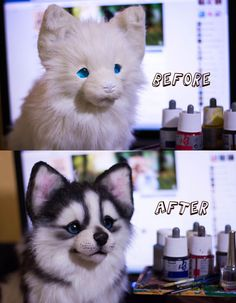 Before and After by MalinaToys.deviantart.com on @DeviantArt