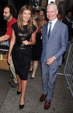 Nina looking fierce in Michael kors, and Mr. Gunn looking sharp, as always