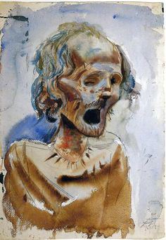 From the catacombs in Palermo II - Otto Dix