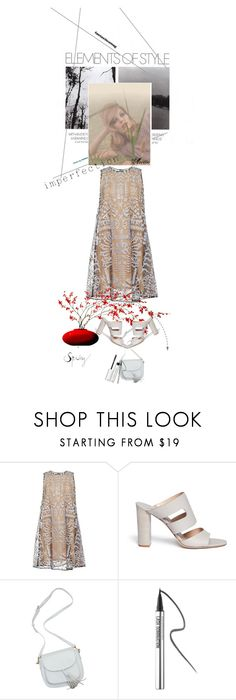 """""""Imperfection"""" by wodecai ❤ liked on Polyvore featuring Mary Katrantzou, Diane Von Furstenberg, Bare Escentuals and Bobbi Brown Cosmetics"""