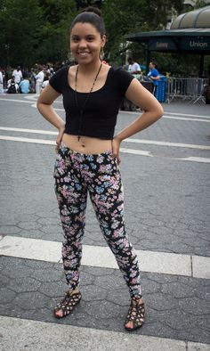Street Style in Manhattan's Union Square (it was 90 degrees!)