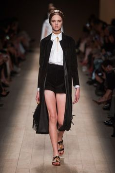Valentino Ready to Wear S/S 2014. Folkroric style.