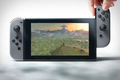 We knew it was coming - albeit with a way-less-catchy name - but the Nintendo Switch is finally official. As had been rumored, the system is a console/portable hybrid, with a high-def screen that undocks from its TV-connected charger to...