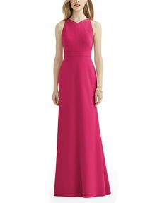 DescriptionAfter Six Style 6740Fulllength bridesmaid…