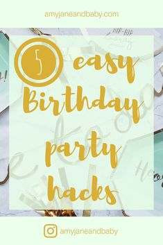 Last week I shared my '1st Birthday Gift Guide'. Today I'm sharing five easy party hacks, perfect for making planning your child's party a little bit easier. This post includes a giveaway featuring 'Appy Drinks… View Full Post