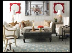 Bunny-Williams-Neutral-Home-Decor-Pops-of-Color-through-Art-and-Accessories