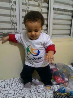 Diário do Felipinho: Sou olímpico...rs