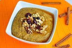 Chutná tekvicová pšenová kaša, ktorá vás zahreje. Kaša sa vďaka použitiu tekvice hodí najmä do jesenných mesiacov. Ak nemáte doma pšeno, môžete si ju pripraviť aj z quinoi,ovsených vločiek, kuskusu alebo kukuričnej krupice. Ingrediencie (na 1 porciu): 1/4 hrnčeka pšena 1 hrnček mandľového mlieka 4 PL tekvicového pyré* 2 PL medu 15g orechov 15g sušených […]