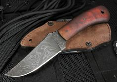 The Exclusive Winkler Damascus Blue Ridge Hunter with Maple Handle is sold only at KnifeArt. This scaled down version of the Winkler Belt Knife was designed by Daniel Winkler, a bladesmith since 1988 who draws his inspiration for his knife designs from the history of frontier America. Winkler has worked with Special Forces Teams in the United States Military, as well as with Allied Forces from around the world. This involvement prompted the establishment of the Winkler Knives II product…