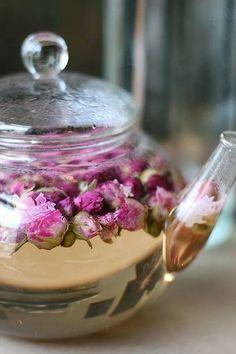 Rose Tea - a subtle Valentine's Day drink, don't you think?