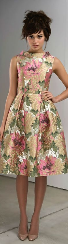 I like her hair :) Vintage Floral Print   http://sulia.com/channel/fashion/f/7b52759e-f2e3-4980-92ea-0b8441de2fd6/?source=pin&action=share&btn=small&form_factor=desktop&sharer_id=125430493&is_sharer_author=true&pinner=125430493