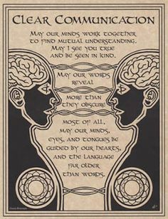 CLEAR Communication Parchment Page for Book of Shadows, Altar! - $1.85. Clear Communication Clear Communication Parchment Page A prayer to help foster clear communication between individuals. This 8.5 inch by 11 inch page printed on parchment-like paper is perfect for a Book of Shadows or as a poster above an altar. Please note: if you are collecting parchment pages for framing, colors do not always match. Please contact us first so we can try to get tints as close as possible. Page is…