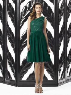 Dessy Collection 2871 #green #bridesmaid #dress