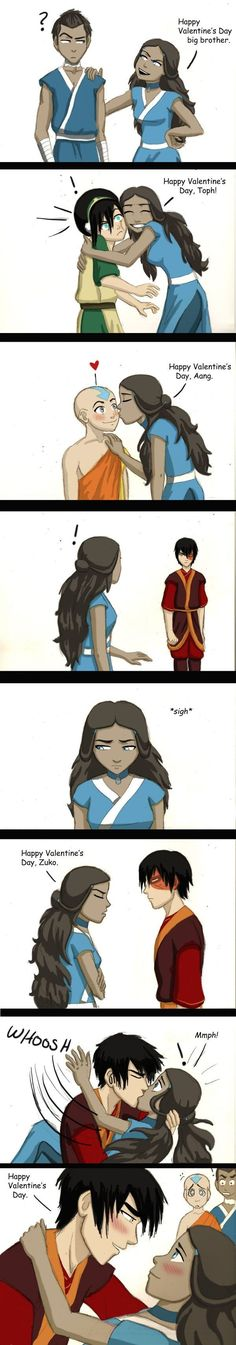 aang's face in the last panel got me, got me bad<<<Aang was funny, but look at sokka in that last one