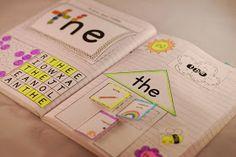 The Teacher Gene: Sight Word Interactive Notebooks