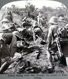 British Allied Scouts in East Africa WWI