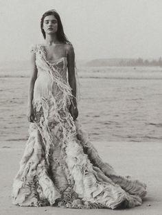 Natalia Vodianova photographed by Paolo Roversi