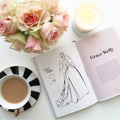"1,212 tykkäystä, 56 kommenttia - • J O D I • Flowers & Flatlays (@jodianne_) Instagramissa: ""• tea time •  with Grace Kelly..."""