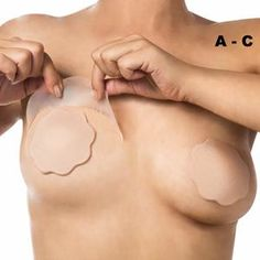 299c051342c68 Breast Lift Tape cup A-C with Nude Silicone Nipple Covers
