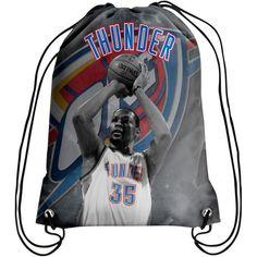 Kevin Durant Oklahoma City Thunder Player Printed Drawstring Backpack - $14.99