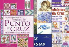 Un regalo para bordar: 10 Libros de punto de cruz