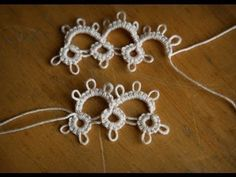 "Tatting - ""Reverse Work (Rw.) in Needle Tatting"" by RustiKate"