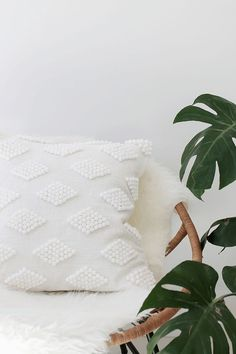EASY DIY PROJECT: MODERN POM POM CUSHION | THE STYLE FILES