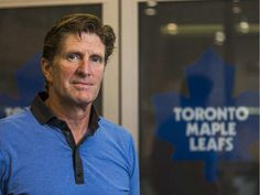 Toronto Maple Leafs coach Mike Babcock poses for a photo at the team's practice rink in Toronto on Sept. 3, 2015.