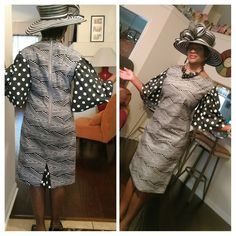 African Dress Sew Virtuous Designs African Dress, Dress Fashion, Dresses For Work, Sewing, Dressmaking, Couture, Stitching, Sew, Costura