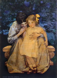 Jessie Willcox Smith 'Mother and Child'