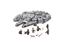 LEGO Star Wars Millennium Falcon Building Kit for $95.99 at Walmart and Amazon