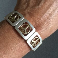 ⛱ Peace Sign Bracelet Stretch peace sign bracelet Jewelry Bracelets