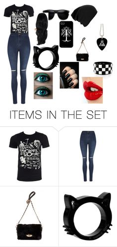 """""""first day of school searra"""" by breeminecraftlover on Polyvore featuring art"""