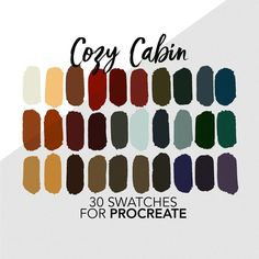 Colour Pallette, Color Combos, Color Schemes, Paleta De Color Hexadecimal, Winter Colors, Winter Color Palettes, Colours That Go Together, Forest Color, Color Swatches