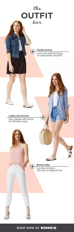 268b2a661 Get ready to brunch in style with The Outfit Bar at Kohl's. Whether you'