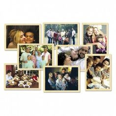 "Matching Real Families Puzzle Set, Beautiful family photographs show the diversity of what it means to be a family worldwide. There are 10 pieces in each 9"" x 12"" solid-wood puzzle"