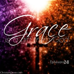 God's grace truly is amazing! Grace is undeserved favor. We've done nothing to deserve salvation or any other good thing from God, but He gives it anyway. Rejoice as you read these quotes and verses, and thank God for His amazing grace! Bible Scriptures, Bible Quotes, Faith Bible, What Is Grace, Christian Quotes Images, Grace Christian, How To Be Graceful, Gods Grace, God Jesus
